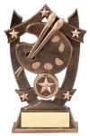 3D Sport Stars -Art 3D Sport Stars Resin Trophy Awards