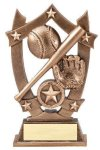 3D Sport Stars -Baseball 3D Sport Stars Resin Trophy Awards