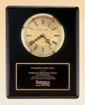 Black Piano Finish Vertical Wall Clock Achievement Awards