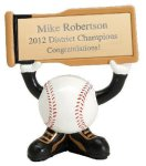 Ball Head Resin Figure -Baseball  Baseball Trophy Awards
