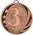 MidNite Star Medal -3rd Place  Basketball Trophy Awards