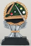 Impact Series -Billiards Billiards/Pool Trophy Awards