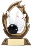 Flame Series -Bowling Bowling Trophy Awards