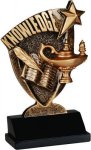 Broadcast Resin -Lamp of Knowledge Broadcast Resin Trophy Awards