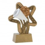 Stars and Stripes Resin Awards -Cheer Cheerleading Trophy Awards
