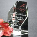 Citadel Award Clear Optical Crystal Awards