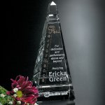 Castle Peak Clear Optical Crystal Awards