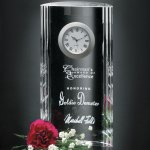 Greenwich Clock Clock Crystal Awards