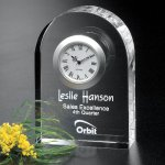 Rutledge Clock Clock Crystal Awards