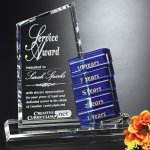 Glendale Goal-Setter Cobalt Glass Awards