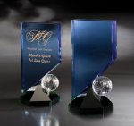 Hideaway Cobalt Glass Awards