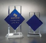 Bold Cobalt Glass Awards