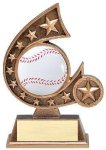 Resin Comet Series -Baseball Comet Resin Trophy Awards