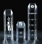 Hexagon Tower Acrylic Award Corporate Acrylic Awards