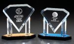 Diamond On Posts Corporate Acrylic Awards