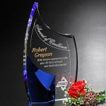 Allure Indigo Award Crystal Glass Awards