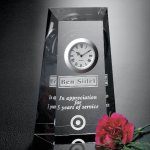 Westchester Clock Crystal Glass Awards