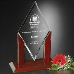 Quantum Award Crystal Glass Awards