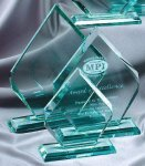 Premium Glass Arrow Diamond Awards