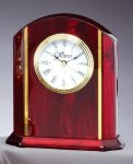 Desk Clock With Plate Employee Awards