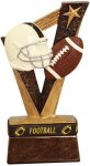 Trophy Band Resin -Football Football Trophy Awards