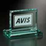 Huntington Rectangle Jade Glass Awards