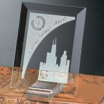 Prisma Rectangle Jade Glass Awards