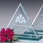 Princeton Triangle Jade Glass Awards
