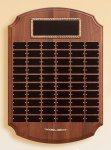 Solid American Walnut Perpetual Plaque Medium Perpetual Plaques