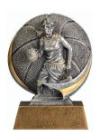 Motion X 3-D -Basketball Female  Motion X Action 3D Resin Trophy Awards