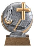 Motion X 3-D -Religion Motion X Action 3D Resin Trophy Awards