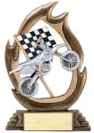 Flame Series -Motorcycle Moto-Cross Trophy Awards