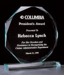 Octagon Series 3/4 Thick Acrylic Award Religious Awards