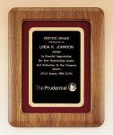 American Walnut Frame Plaque Sales Awards