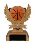 Victory Wing Resin Figure -Basketball Scholastic Trophy Awards