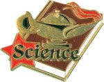 Science Pin Scholastic Trophy Awards