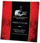 Acrylic Red Plate Square Rectangle Awards