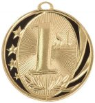 MidNite Star Medal -1st Place  Swimming Trophy Awards