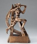 Ultra Action Resin Trophy -Track Female Track Trophy Awards