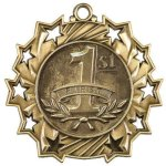 Ten Star Medal -1st Place  Victory Trophy Awards