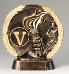 Resin Plate -Victory Victory Trophy Awards