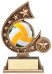 Resin Comet Series -Volleyball Volleyball Trophy Awards