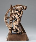 Ultra Action Resin Trophy -Wrestling Wrestling Trophy Awards